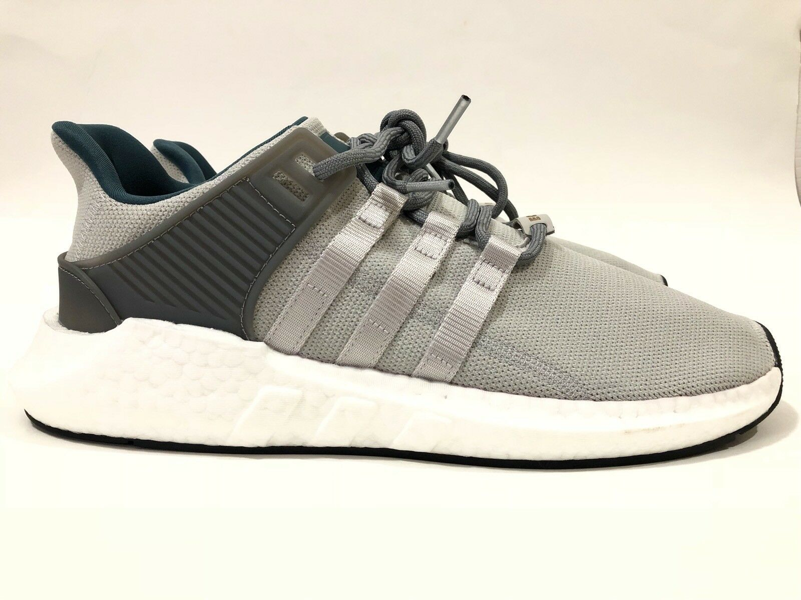New Uomo's Adidas EQT Support 93/17 Boost Sz11 Grey Shoes Nmd Yeezy Human