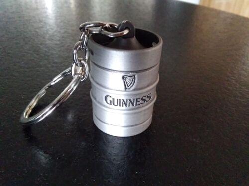 Guinness Keyring Mini Metal Keg *Brand New*