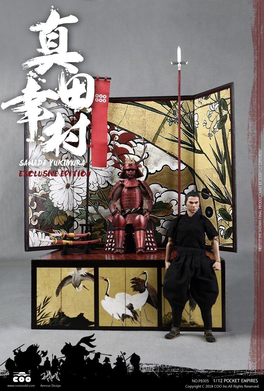 COOMODEL Japanese Samurai SANADA YUKIMURA (EXCLUSIVE EDITION) 1 12 Figure