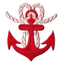 patch écusson transfert brodé patche Ancre marine Marin bateau mer insigne