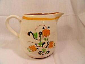 Stangl-Pottery-Terra-Rose-Milk-Pitcher-Tulip