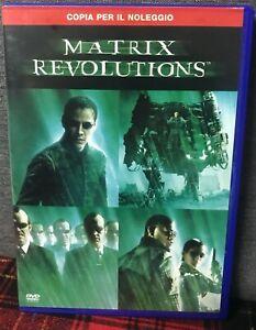 Matrix-Revolutions-DVD-Keanu-Reeves-Ex-Noleggio-Come-da-Foto-N