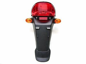 NEW-orig-Sym-Fender-MUD-GUARD-M-Rear-Light-amp-blinkern-OEM-3370a-h3a-010