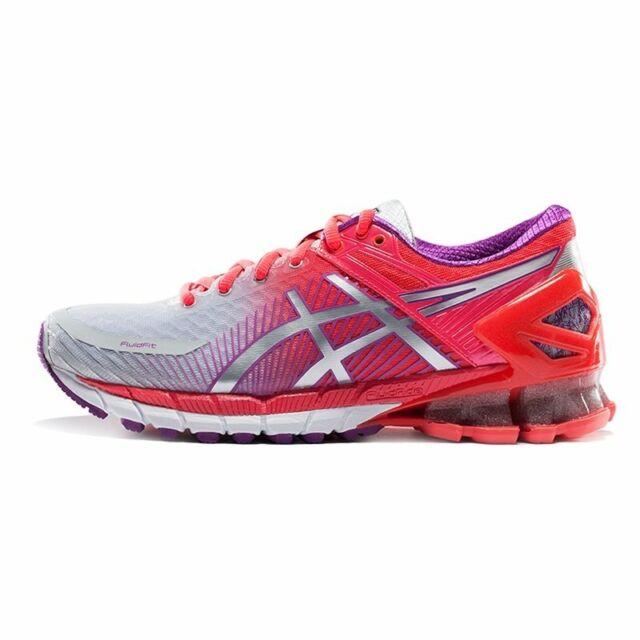 brand new 65a2f e0677 Asics Gel-Kinsei 6 Grey Silver Pink Women Running Shoes T694N-9693