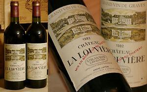 1982er Chateau La Louviere-pessac Leognan-top Millésime ***-afficher Le Titre D'origine Performance Fiable