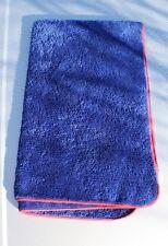 PolishYourCar PYC Fluffy Blue Drying Towel Detailing Car Van Big Soft Valeting