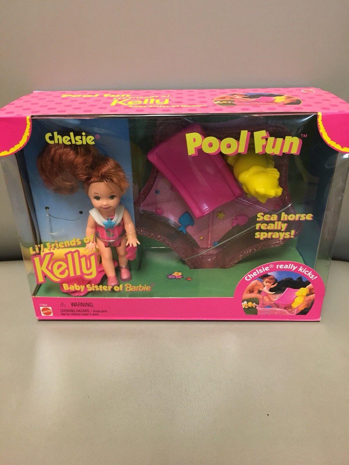 Barbie Lil Friends Of Kelly Baby Sister Of Barbie Chelsie