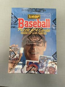 1988 Leaf Donruss Baseball BBCE Certified Wax Box - 36 PACKS FROM UNOPENED CASE
