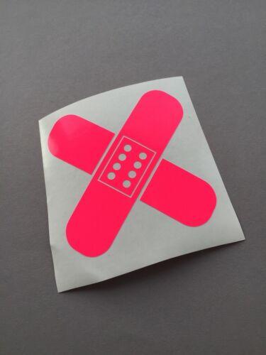 Dispositif transdermique Neon Pink Stickerbomb Voiture Autocollant sticker tuning JDM turbo Décalque