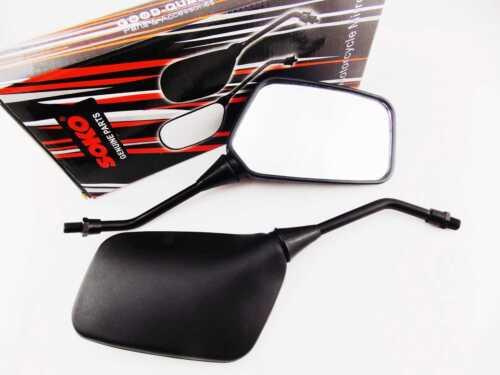 SUZUKI VL250 LC INTRUDER 99-15 BLACK RECTANGULAR SOKO REAR VIEW MIRRORS