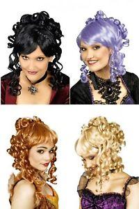 Details Zu Damen Perucke Barock Rokoko Hochsteckfrisur Gothik Mittelalter 4 Farben Neu