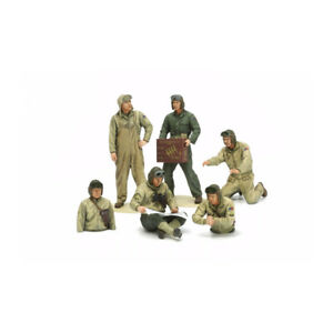 35347-Tamiya-Plastic-Kit-Us-Tank-Crew-Euro-theatre-Scale-1-35th-Model