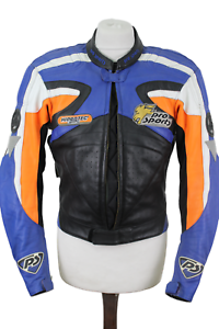 HEIN GERICKE Pro Sports Leather Motorbike Jacket size 52