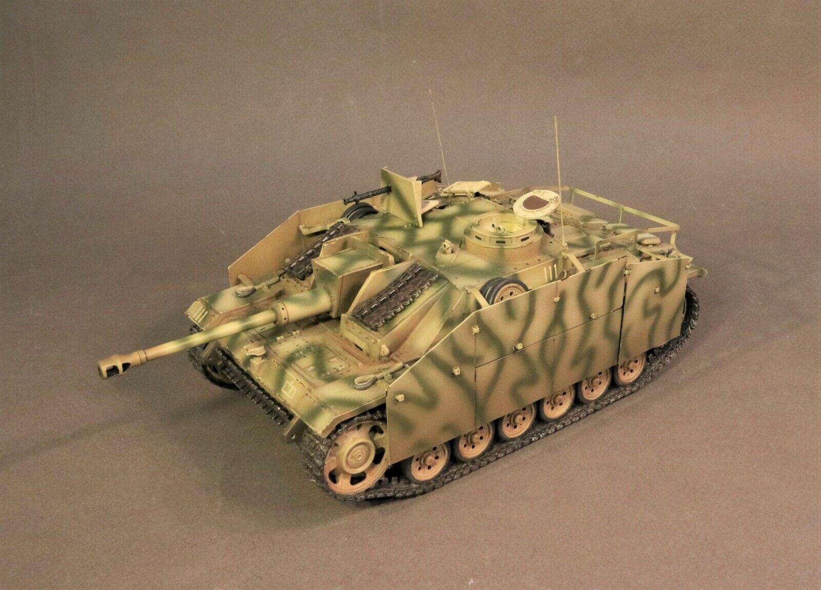 JOHN JENKINS WW2 GERMAN GA-20 STUG III AUSF. G TANK SET MIB