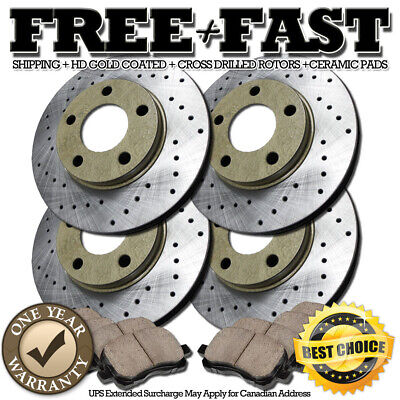 Rotors Ceramic Pads F 2012 2013 Acura MDX OE Replacement