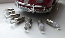 VW Splitscreen Bay LED 12V Dash Gauge & Warning Lights Set LLB281 GLB281 BA7s T1
