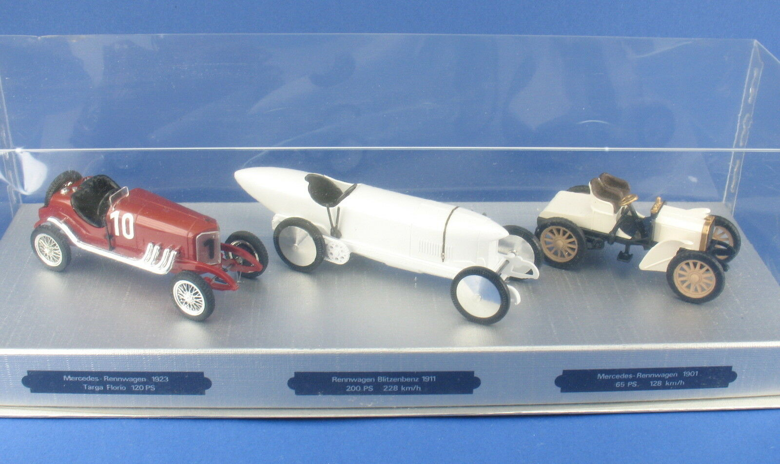 Cursor-Mercedes-Targa Florio + Lightning Benz 1911 + Racing Cars 1901 - 1 43