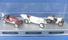 CURSOR - Mercedes - Targa Florio + Blitzenbenz 1911 + Rennwagen 1901 - 1:43