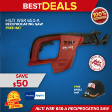 Hilti Wsr 650 A Cordless Reciprocating Saw Preowned Body Only Fast Ship