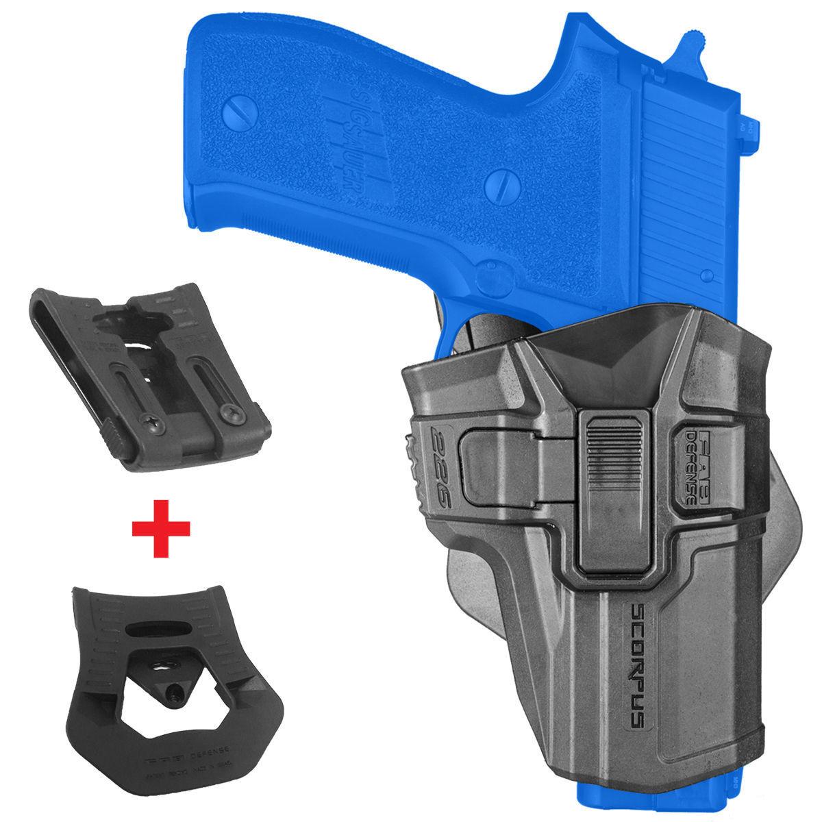FAB Defense SCORPUS Level 2 RETENTION HOLSTER for SIG SAUER P226 Models 226R