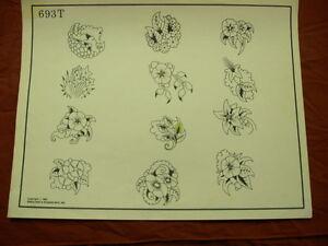 1986 Spaulding & Rogers Flash Art Flowers Page 693T