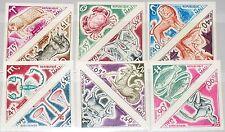 MALI 1972 343-54 U 183-94 imperf Zodiac Signs Sternzeichen Tierkreiszeichen MNH