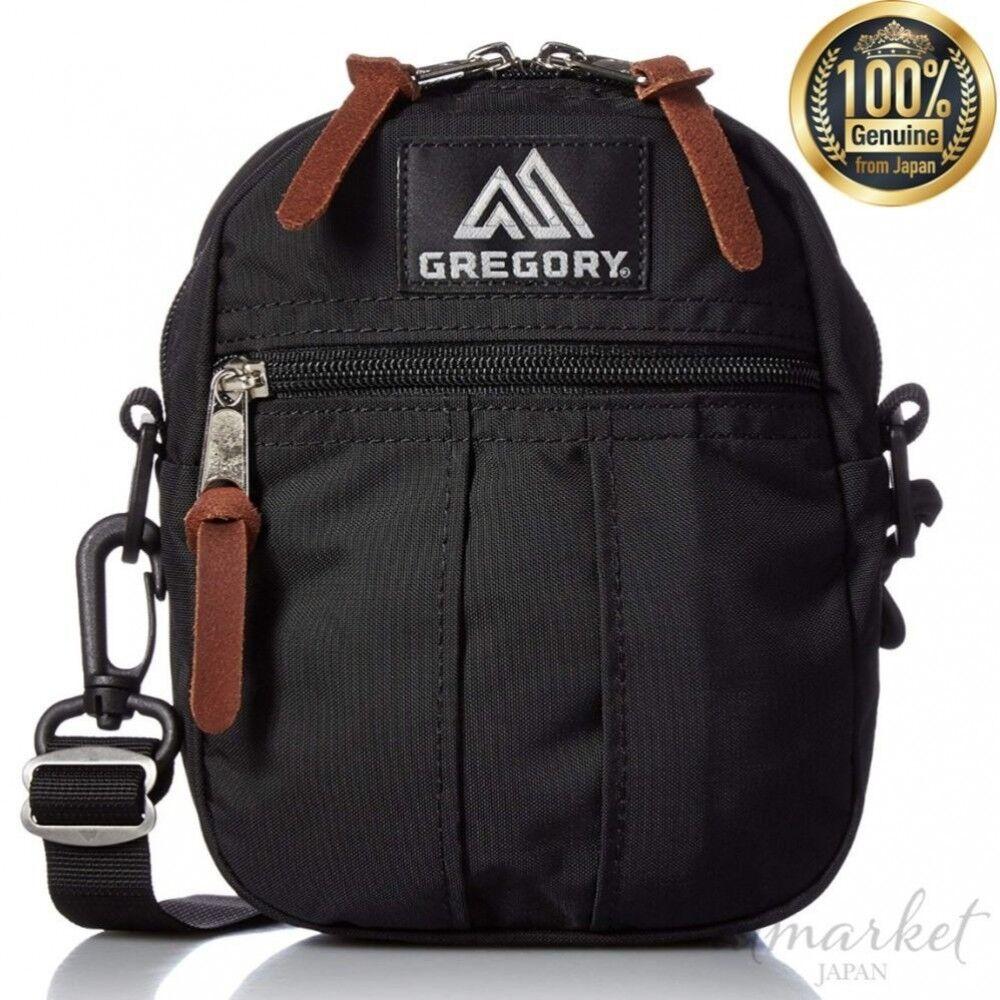 Gregory Offiziell Schultertasche Schnell Tasche M SCHWARZ Gm68456 Echt aus Japan | Sehr gelobt und vom Publikum der Verbraucher geschätzt