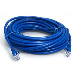 New RJ45M-RJ45M UTP Cat.5e Computer Network Cable 50m
