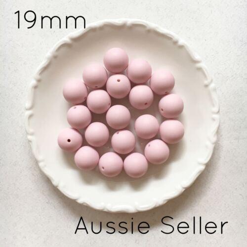 10 silicone beads LEMON YELLOW 19mm round BPA free baby sensory jewellery 20mm