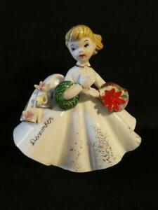Vintage-Lefton-Birthday-December-Girl-Christmas-Figurine