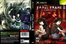 Fatal Frame II: Crimson Butterfly CUSTOM XBOX CASE (NO GAME)