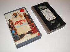 VHS Video ~ Porky's II: The Next Day ~ Small Case Ex-Rental Pre-Cert ~ CBS/FOX