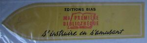 Antique-Brand-Pages-Bookmark-Advertising-Editions-Bias-My-First-Bibliotheque