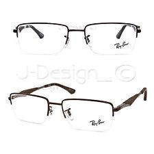 9d46f63c826 item 5 Ray Ban RB 6285 2758 Matte Brown Half Rimless 53 18 140 Eyeglasses  Rx - New -Ray Ban RB 6285 2758 Matte Brown Half Rimless 53 18 140 Eyeglasses  Rx - ...