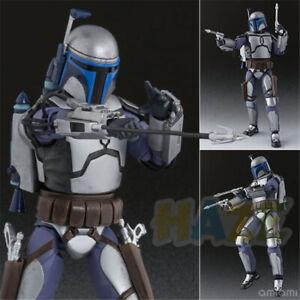 SHF Figure Star Wars Anime Figurine Star Wars Jango Fett Bounty Hunter PVC