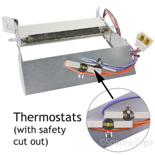 CREDA Tumble Dryer élément chauffant /& chauffage Thermostats de sécurité TVR2 TVS3 TVU1
