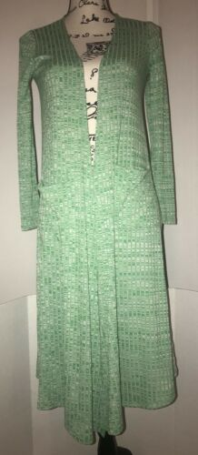 Sarah Duster Hvid Grøn Lularoe Cardigan Kelly Heathered SHqZ44dx