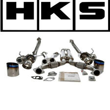 HKS Dual Hi-power Titanium Tip CATBACK Exhaust System 03-07 350z 32009-bn001