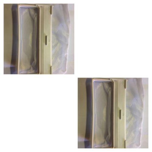 2 x Hitachi Washing Machine Lint Filter Bag SF-H800PX SF-H900PX SF-140LJF