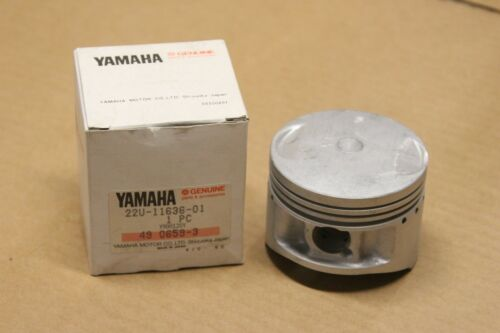 New genuine /& piston yamaha 22u-11636-01 o//s 0.50 to xv500k xv 500 1983