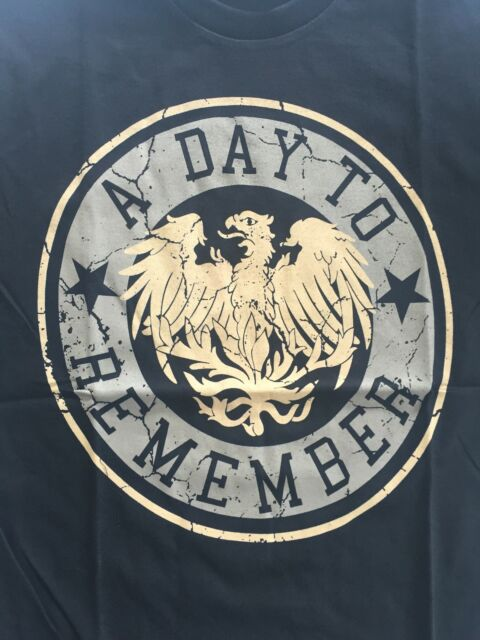 A DAY TO REMEMBER - EAGLE  LOGO T SHIRT