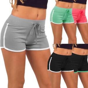 Women-Casual-Cotton-Running-Sports-Shorts-Yoga-Gym-Jogging-Summer-Beach-Pants