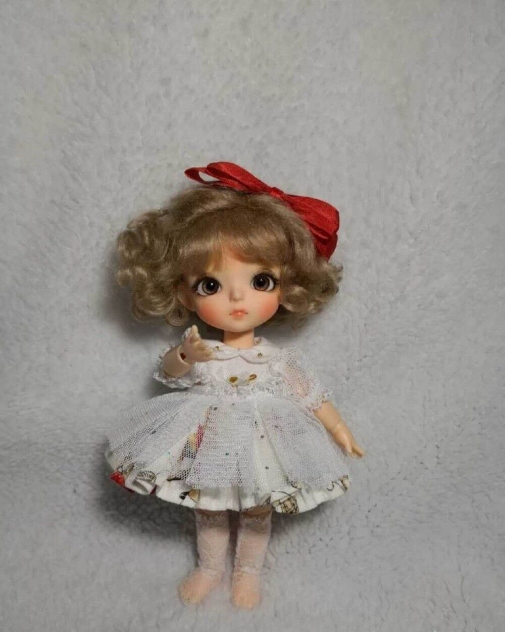 1 8 Bjd Doll Joy Make Of Resin With Eyes Puppe Tiny Cute Doll