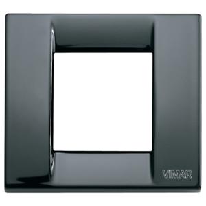 Vimar-17092-11-Plakette-60x60-MM-Metall-Schwarz-Vimar-Idea-Form-Reduziert