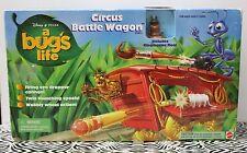 A BUG'S LIFE CIRCUS BATTLE WAGON Ringmaster Flea NEW
