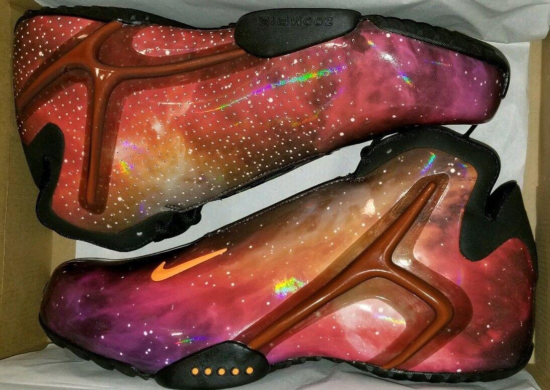 NIKE ZOOM HYPERFLIGHT PREMIUM GALAXY 12 LEBRON FOAMPOSITE ALL STAR STAR STAR XMAS ASTEROID 2d3b74
