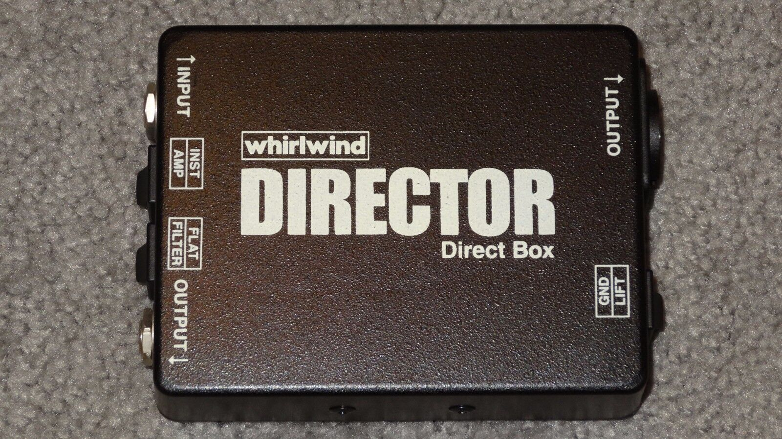 Whirlwind Director Direct Box never used