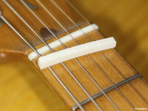 Bone Nut 7,25/'/' Radius Preshaped fits Fender®