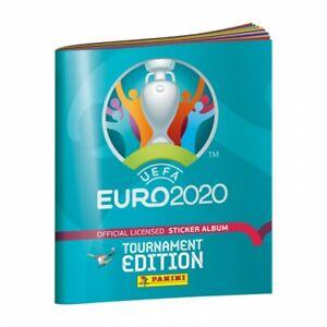 "Football: Images PANINI Stickers ""UEFA EURO 2020"" - Tournament - Blue (1 -> 222)"