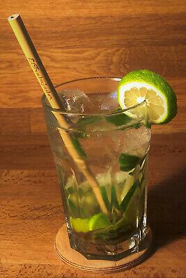 Trinkhalme Strohhalme Cocktail Barzubehör Ø3-5x200mm Eltrabajador®
